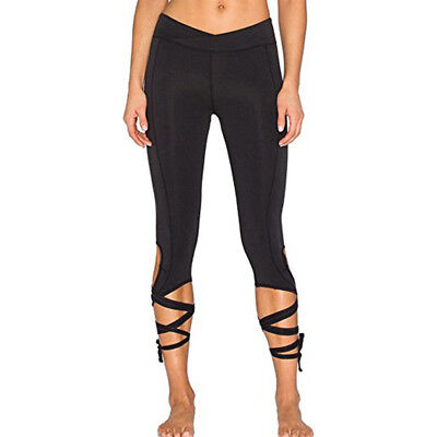 Ballet Yoga Fitness Leggings Running Jogging Workout Sports Gym Trousers Pants