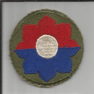WW 2 US Army 9th Infantry Division Patch Inv# B248