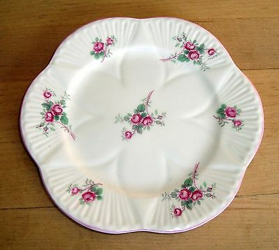 "SHELLEY  Bridal Rose  6"" BREAD & BUTTER PLATE   #13545"