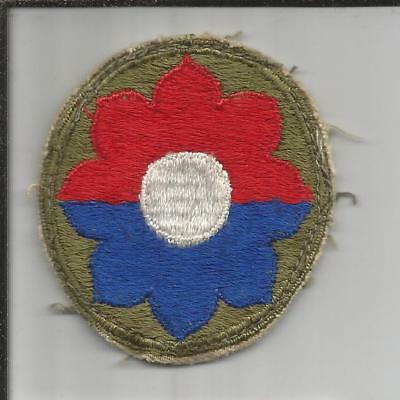 WW 2 US Army 9th Infantry Division Patch Inv# B258