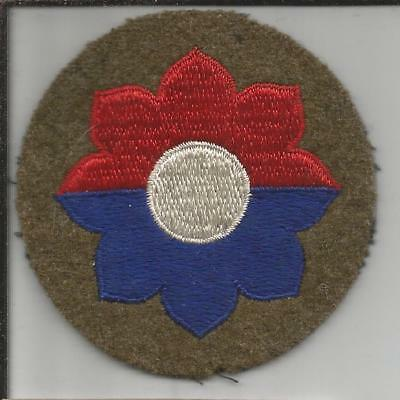 Off Uniform WW 2 US Army 9th Infantry Division Wool Patch Inv# B262