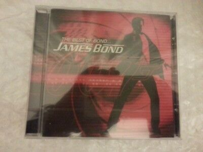 Various - THE BEST OF BOND...JAMES BOND  (Greatest hits cd NEW SEALED) ....£4.95