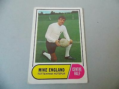 A&BC Football Facts 1969 Green Back #81 Mike England Spurs 2ND Series