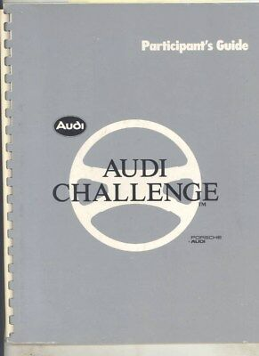 1984 Audi Coupe UR Quattro GT 4000S 5000S v BMW Tbird Volvo Saab Brochure wy7862