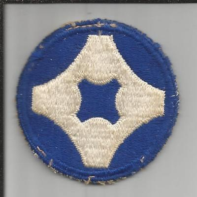 TT496 WW 2 4th Service Command Patch