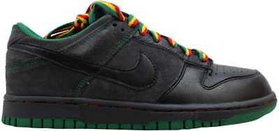 best sneakers 57d1f db89a Nike Dunk Low CL BlackBlack-Anthracite-Pine Green Rasta Jamaica 304714-