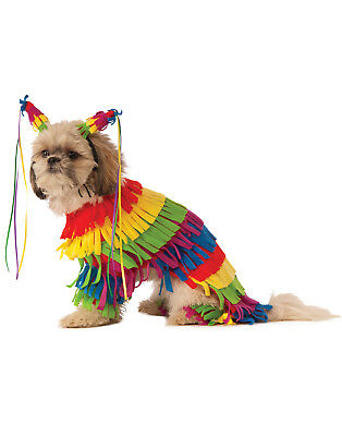 Pet Viva Pinata Dog Cat Mexican Festive Party Halloween Costume