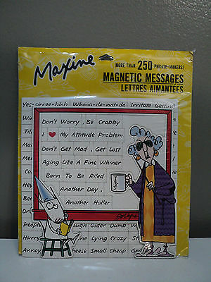 Hallmark MAXINE Magnetic Messages Vintage Rare