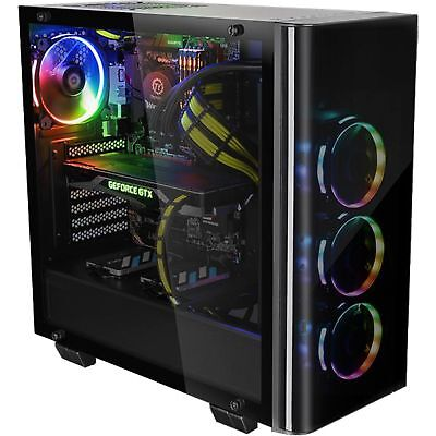 Thermaltake View 21 Tempered Glass Edition, Tower-Gehäuse, schwarz