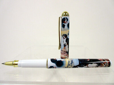 New Bernese Mountain Dog Roller Ball Pen in Gift Box by Ruth Maystead