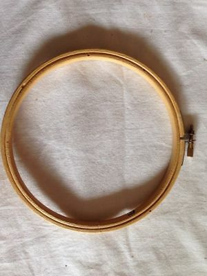 "15.5cm 6"" Cross Stitch Tapestry Hoop Wooden"