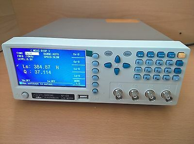 New 10Khz High Precision / Resolution Benchtop Lcr/lcz/rcl Meter,d,q Factor