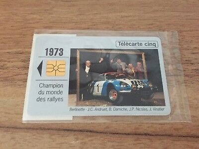 Collectable Phonecards. Telecarte Phonecard Renault 1973