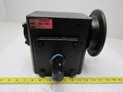Iron Horse WG-262-020-R Cast Iron Worm Gear Box 20:1 Right Hand Output 56C Frame