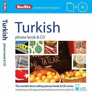 Berlitz Language: Turkish Phrase Book & CD 9781780043890 (Paperback, 2013)