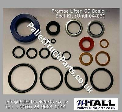 Seal Kit for Pramac Lifter GS Basic pallet/ pump truck (up to 04/03) P/N: 657540