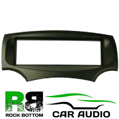 CT24FD30 Black Single Din Fascia Adapter Panel Place for Ford KA 2009 Onwards