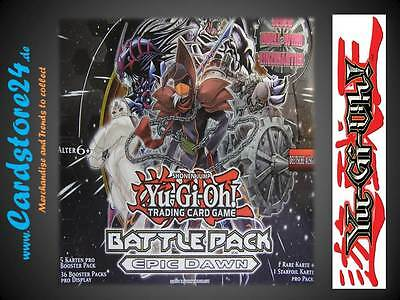 Yugioh - YGO - Battle Pack Epic Dawn - BP01 - Black Rare - Starfoil - 1st