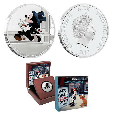 Disney Classics - Mickey Through the Ages - Delayed Date 1 oz Silver Coin