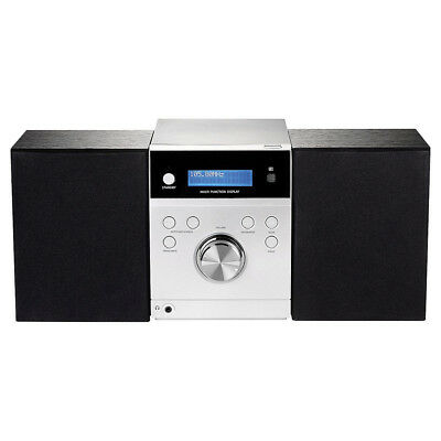 Tesco DMS1702 DAB & FM Hifi Microsystem With CD player Unit Only With Power Lead