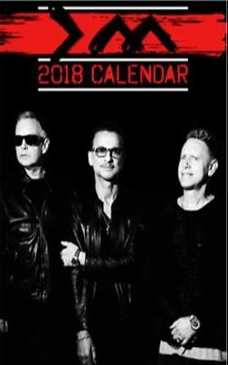 Depeche Mode 2018 A3 Calendar by OC