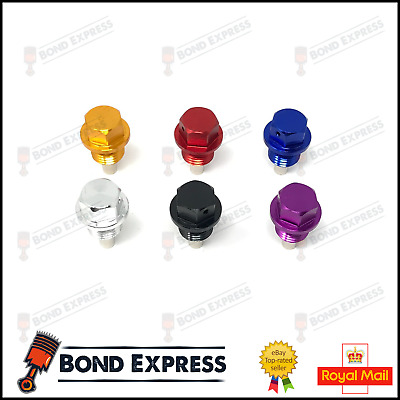 Magnetic Oil Drain Sump Plug Vauxhall VXR GSI SRI Corsa Astra - Multiple Colours