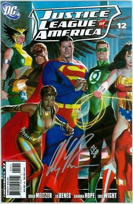 Justice League Of America #12 Df Dynamic Forces Alex Ross Signed Set Jla Movie
