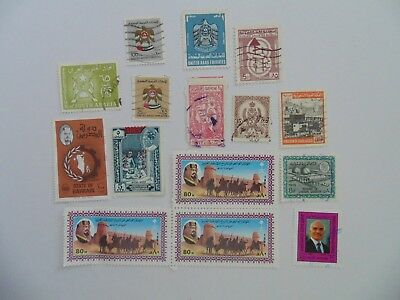 L2051 - Collection Of Mixed Middle East Stamps