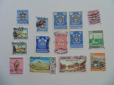 L2053 - Collection Of Mixed Middle East Stamps