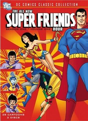 THE ALL-NEW SUPER FRIENDS HOUR SEASON ONE 1 VOLUME ONE 1 New Sealed 2 DVD Set