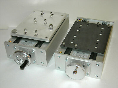 Isel Germany 230101-0300 & X-Y manual table/stage w/mount plate. special Techno?