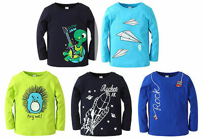 BULK WHOLESALE BUY 5 x Boumini Boys Long Sleeved T-Shirts - SPECIAL