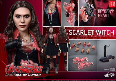 Hot Toys 1/6 MMS301 Age of Ultron AOU Scarlet Witch Action Figure