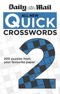 Daily Mail: All New Quick Crosswords 2 (The Daily Mail Puzzle Boo...
