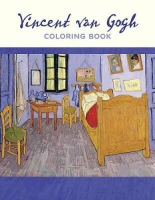 Vincent Van Gogh: Coloring Book by Pomegranate Communications (Paperback /...
