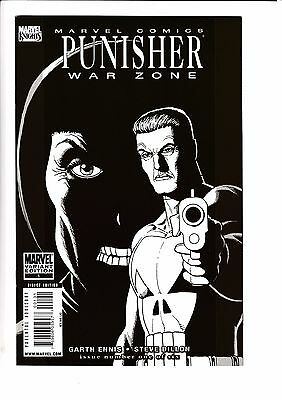 PUNISHER WAR ZONE #1, STEVE DILLON SKETCH VARIANT, New, Marvel Comics (2009)