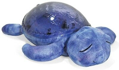 Cloud B Tranquil Turtle Aqua Plush Ocean Wave Projection Soothing Night Light