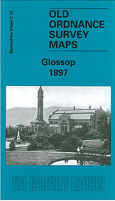 Old Ordnance Survey Map Glossop 1897 Princess Street The Park Shepley Mill