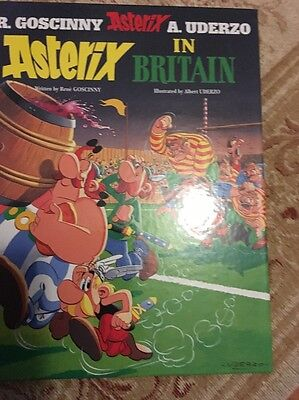 Asterix in Britain by Rene Goscinny (Hardback, 2004)