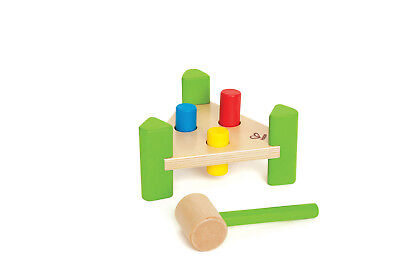 E0404 HAPE Little Pounder Wood Hammer Bench [Early Melodies] Child Toddler 12M+