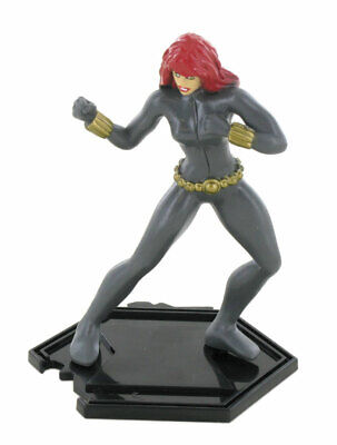 Y96027 Comansi Black Widow Figure on Base 10cm Collectable Figurine Marvel 3+