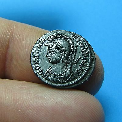 21. Lovely Constantinople Commemorative Roman coin