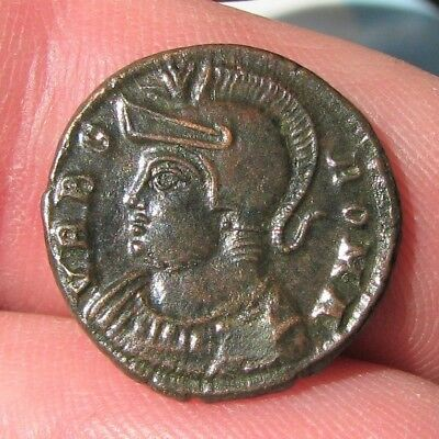 b3. Wonderful URBS Roma Roman coin