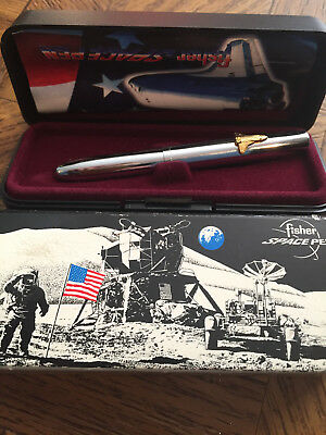 The Fisher Space Pen Bullet with Shuttle in Box