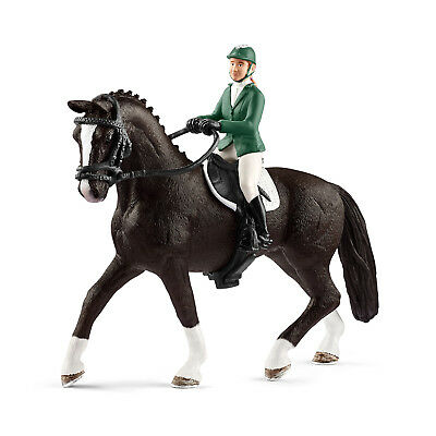 Schleich 42358 Showjumper With Horse (Horse Club) Plastic Figure