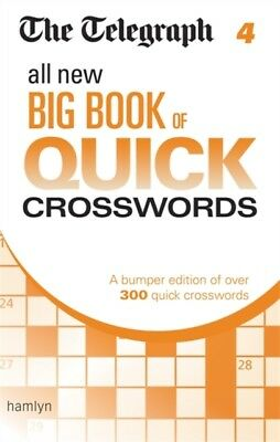 The Telegraph: All New Big Book of Quick Crosswords 4 (The Telegr...