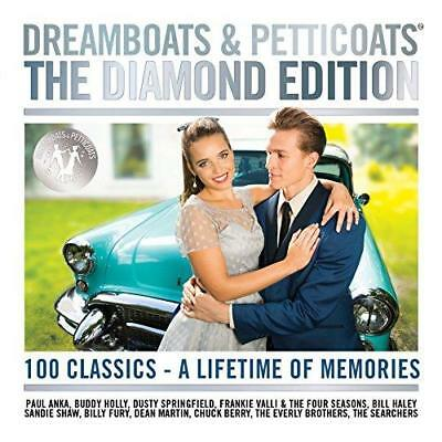 Dreamboats And Petticoats - The Diamond Edition - Various Artists (NEW 4CD)