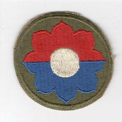 WW 2 US Army 9th Infantry Division Patch Inv# Y985