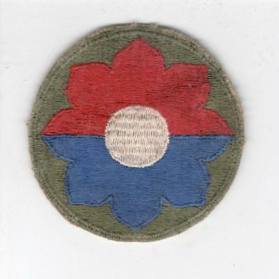 WW 2 US Army 9th Infantry Division Patch Inv# Y988