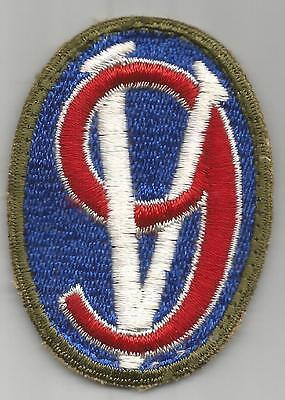 German Made US Army 95th Infantry Division Patch Inv# F761